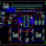 Linha de montagem eletrônica